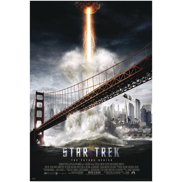 star trek xi poster poster gro format jetzt im shop bestellen close up gmbh. Black Bedroom Furniture Sets. Home Design Ideas