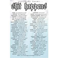 Shit Happens Poster