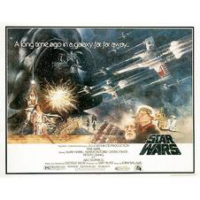 Star Wars Postkarte