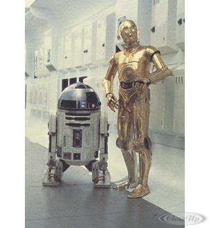 STAR WARS POSTCARD R2-D2 &