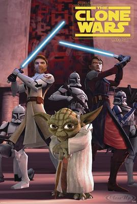 Star Wars the Clone Wars Postkarte