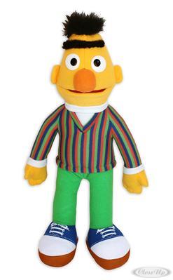 Sesamstrasse Plüschfigur Bert   Kinderzimmer > Spielzeuge > Stofftiere