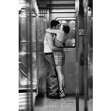 Subway Kiss Poster