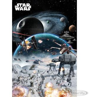 STAR WARS POSTER BATTLE