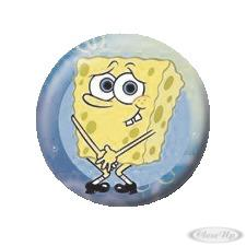 Spongebob Button Naked