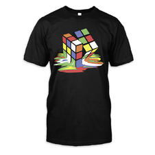 Melting Rubik´s Cube T-Shirt