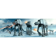 Poster Star Wars AT-AT Fight