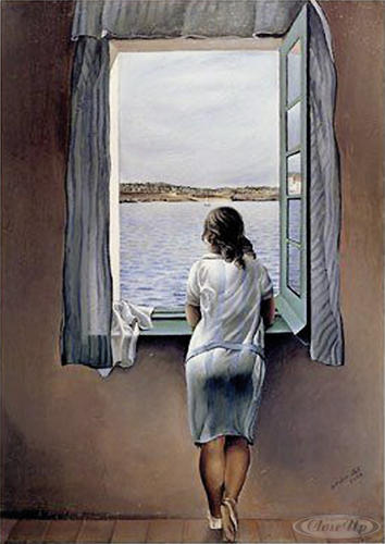 Salvador Dali Kunstdruck Women At The Window