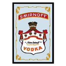 Smirnoff Vodka mirror