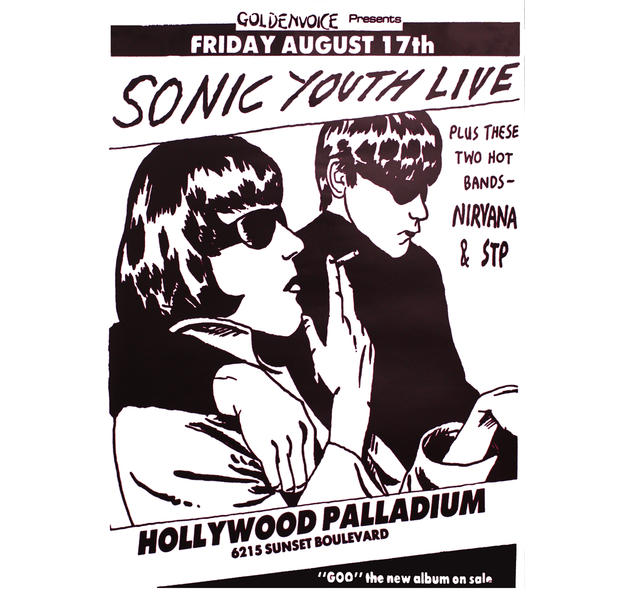 Sonic Youth Poster Goo-Live