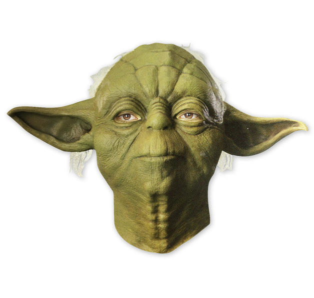 coole star wars maske yoda bei close up im fanshop kaufen. Black Bedroom Furniture Sets. Home Design Ideas