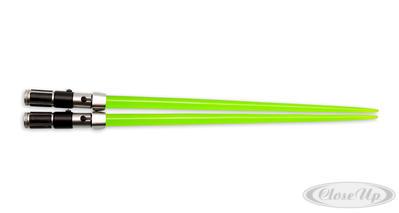 Star Wars Chop Sticks Yoda Lichtschwert-Essstäbchen