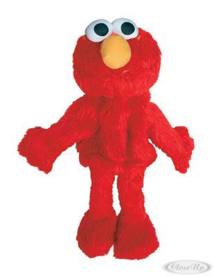 Sesamstrasse Plüschfigur Elmo Handspielpuppe   Kinderzimmer > Spielzeuge > Stofftiere