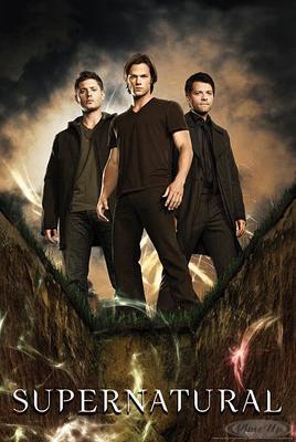 Supernatural Poster Sechste Staffel