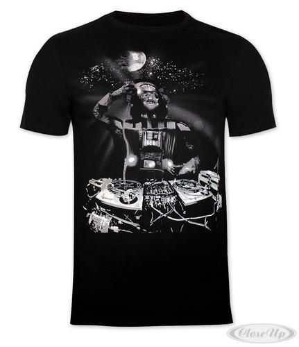 star wars t shirt dj darth vader in da h. Black Bedroom Furniture Sets. Home Design Ideas