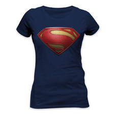 Superman Girlie-Shirt Man of