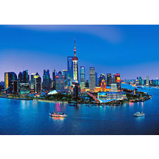 Shanghai Skyline China