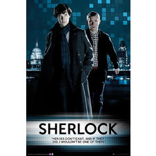 Sherlock Poster Heroes Don't