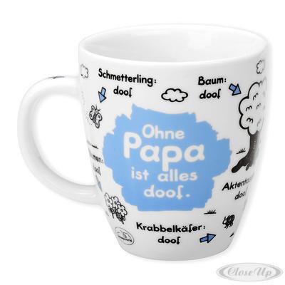 Sheepworld Tasse Ohne Papa ist alles doof