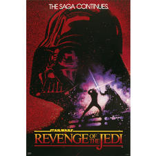 Star Wars Poster Revenge of