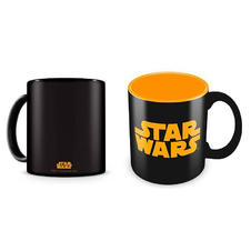 Star Wars Tasse Logo orange