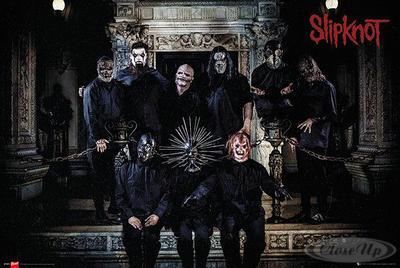 Slipknot Poster Band Lineup