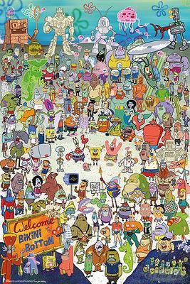 Spongebob Schwammkopf Poster Cast