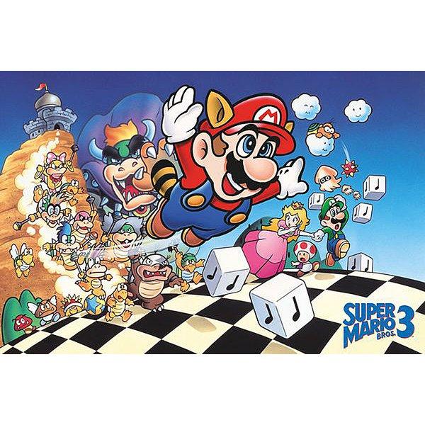 Super Mario Poster Super Mario Bros. 3