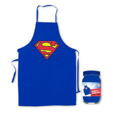 Superman Apron and Oven Mitt