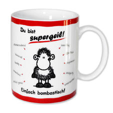 "Sheepworld Tasse ""Supergeil"""