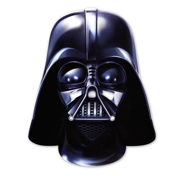 Star Wars PartyMaske Darth Vader aus Pappe bei Close Up
