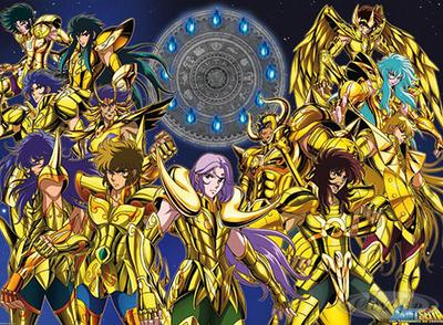 Saint Seiya Poster Gold Saints
