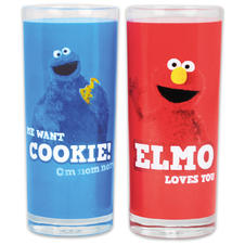 Sesame Street glass set