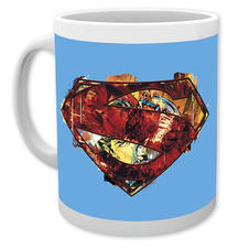 Superman Tasse Art Logo