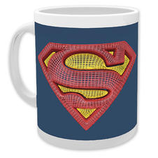 Superman Tasse Mesh Logo