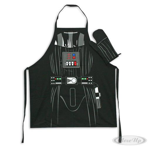 Star Wars Koch- & Grillschürze mit Ofenhandschuh Darth Vader - für die Küche
