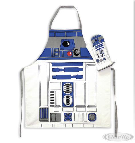 Star Wars Koch- & Grillschürze mit Ofenhandschuh R2-D2 - für die Küche