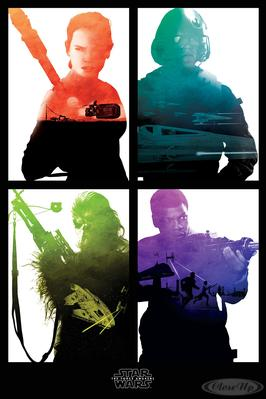 Star Wars: Episode 7 Poster Rebel Blocks