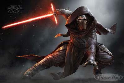 Star Wars: Episode 7 Poster Kylo Ren | Dekoration > Bilder und Rahmen > Poster