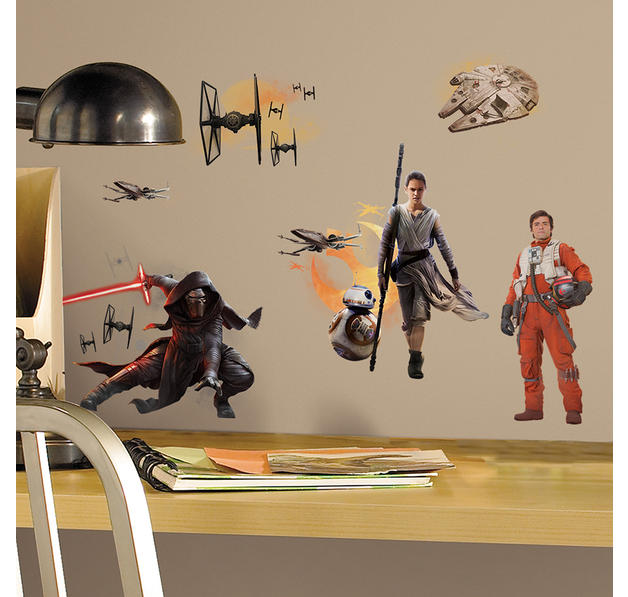 star wars 7 wandtattoo aufkleber bei close up im shop. Black Bedroom Furniture Sets. Home Design Ideas