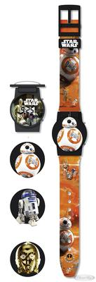 Star Wars Episode 7 Flip Top Uhr R2-D2, C-3PO &...