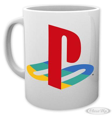 Sony Playstation 1 Tasse Logo