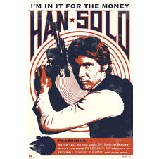 Star Wars Poster Han Solo