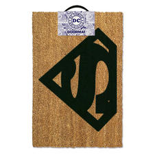 Superman doormat logo