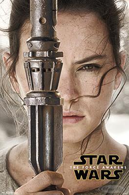 Star Wars Episode 7 Poster Rey Portrait