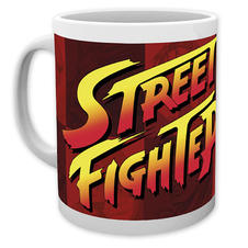 Street Fighter II Tasse Logo