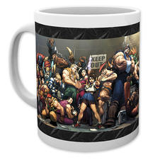 Street Fighter Tasse Fight