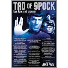 "Star Treck ""Tao of Spock"" Poster"