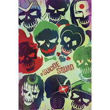 Suicide Squad Poster Faces