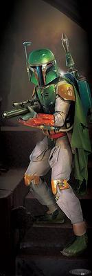 Star Wars Poster Boba Fett mit Gewehr